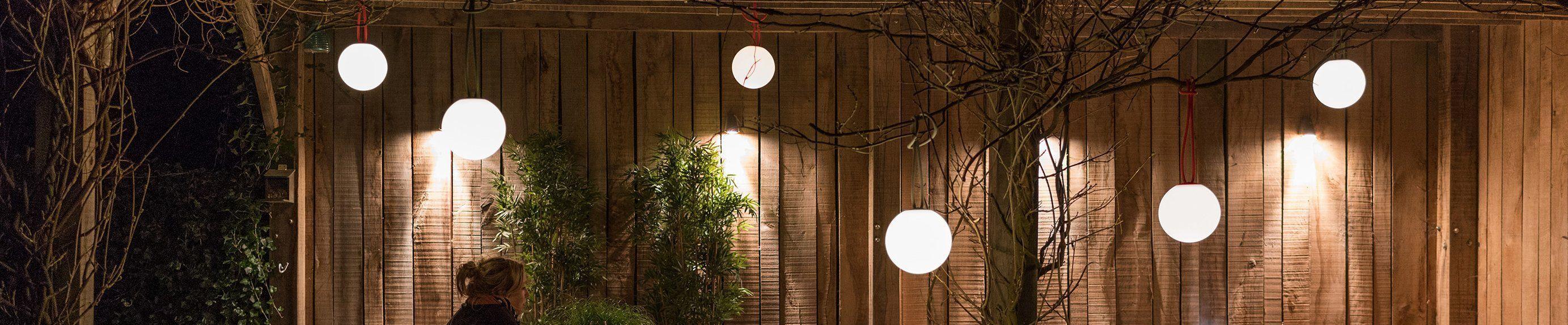 Hangende tuinlampen