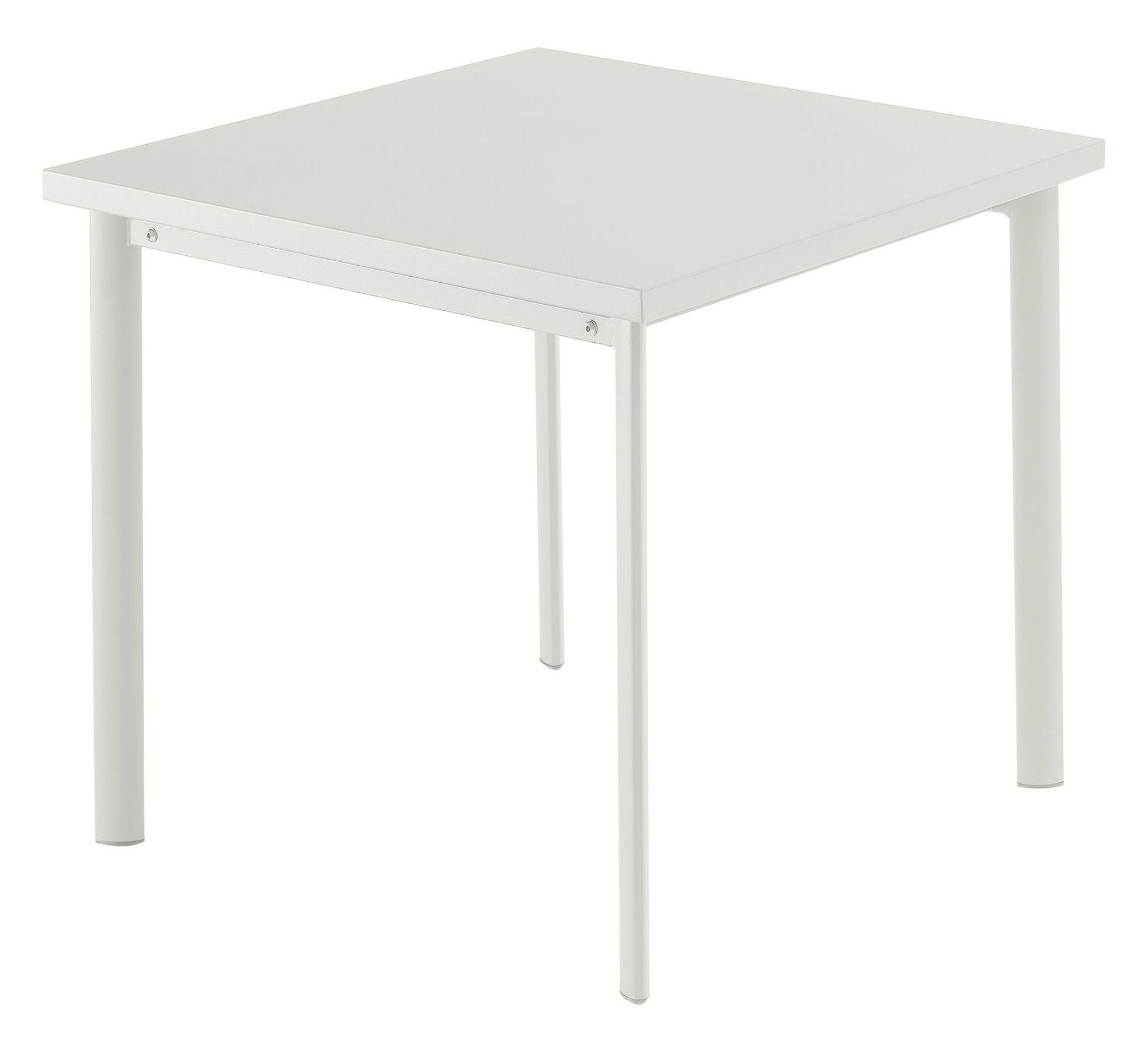 Emu Star Square tafel matt white 70×70