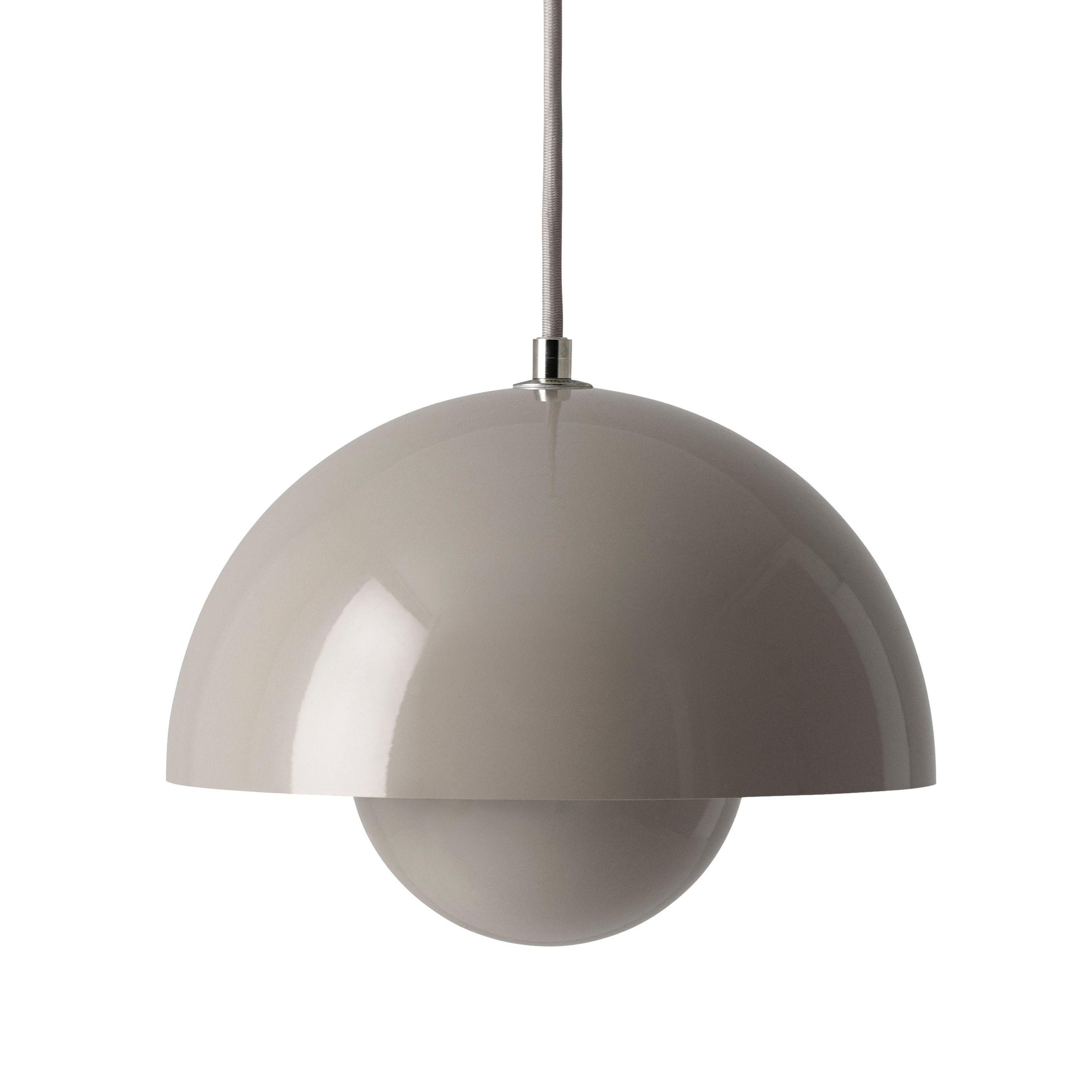 tradition FlowerPot hanglamp grijs beige