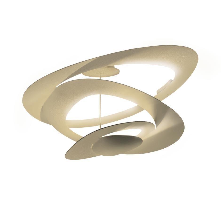 Artemide Pirce Mini Soffitto plafondlamp LED goud 3000K