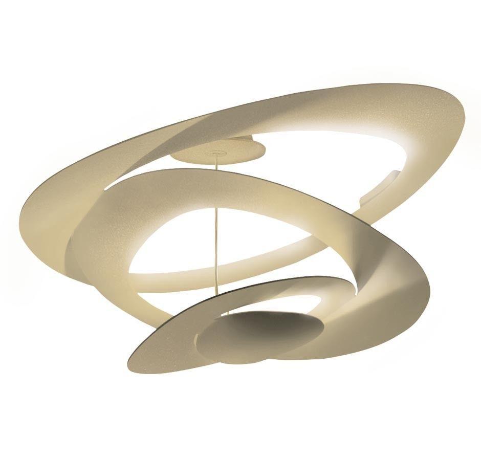 Artemide Pirce Soffitto plafondlamp LED goud 3000K