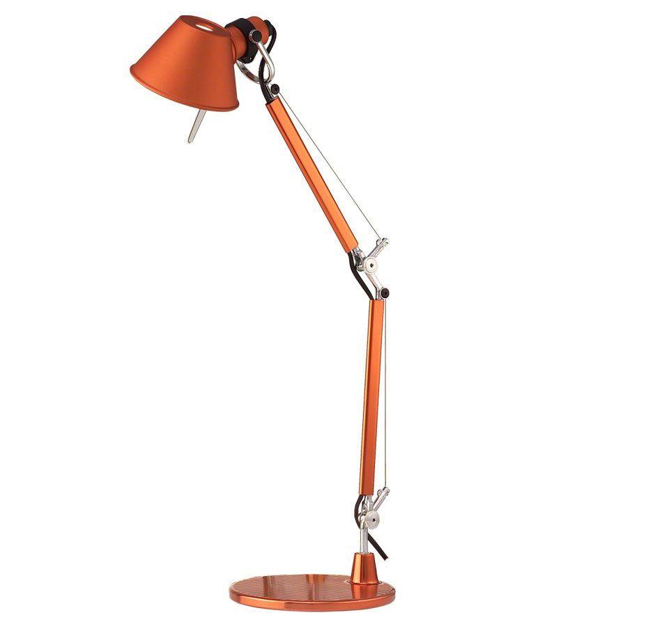 Artemide Tolomeo Micro bureaulamp oranje