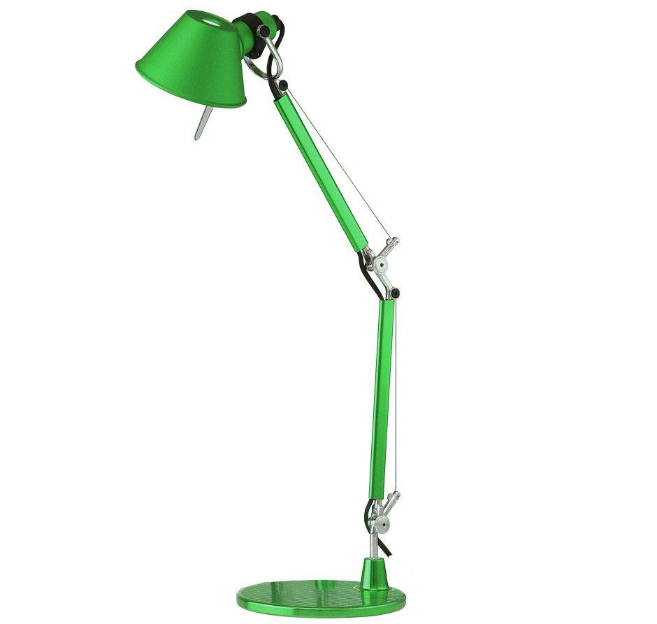 Artemide Tolomeo Micro bureaulamp groen