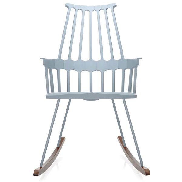 Kartell Comback Rocking schommelstoel blauwgrijs kopen