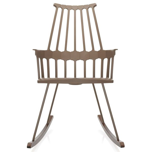 Kartell Comback Rocking schommelstoel hazelnoot kopen