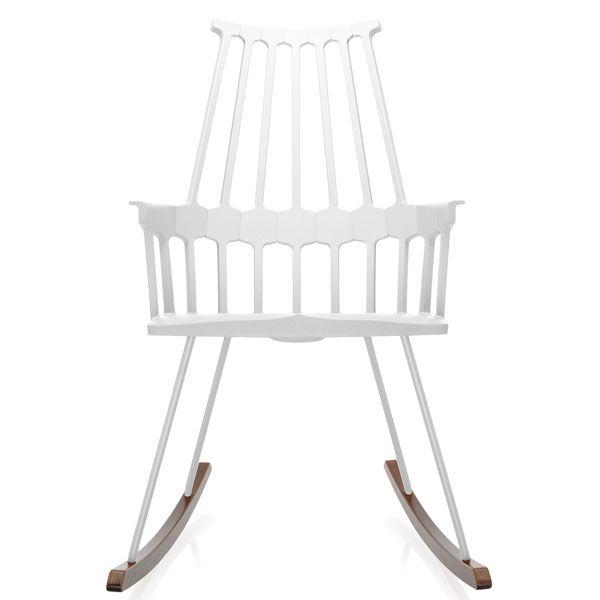 Kartell Comback Rocking schommelstoel wit kopen