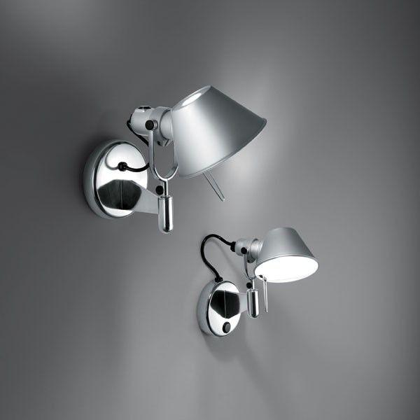 Artemide Tolomeo Micro Faretto wandlamp LED 3000K