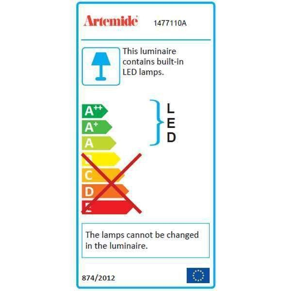 Artemide Mercury Mini Sospensione hanglamp LED 2700K
