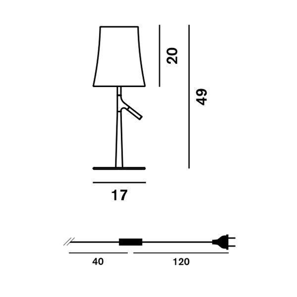 Foscarini Birdie Piccola tafellamp