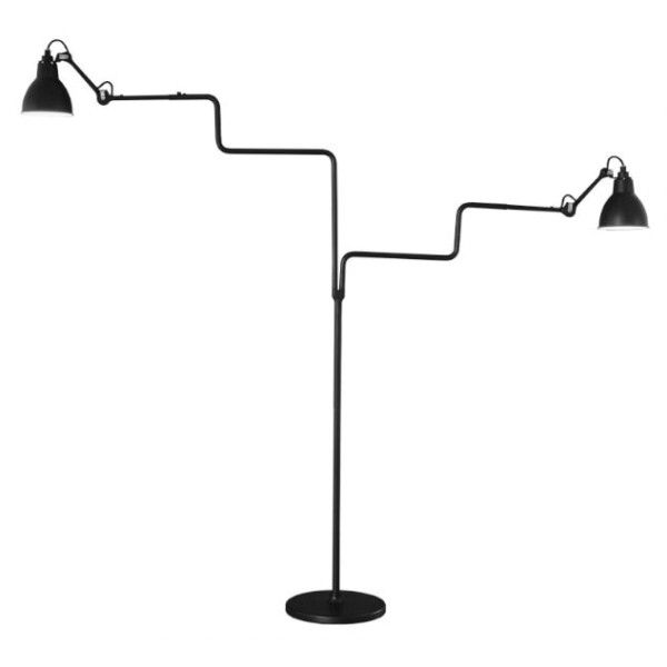 DCW éditions Lampe Gras N411 Double vloerlamp