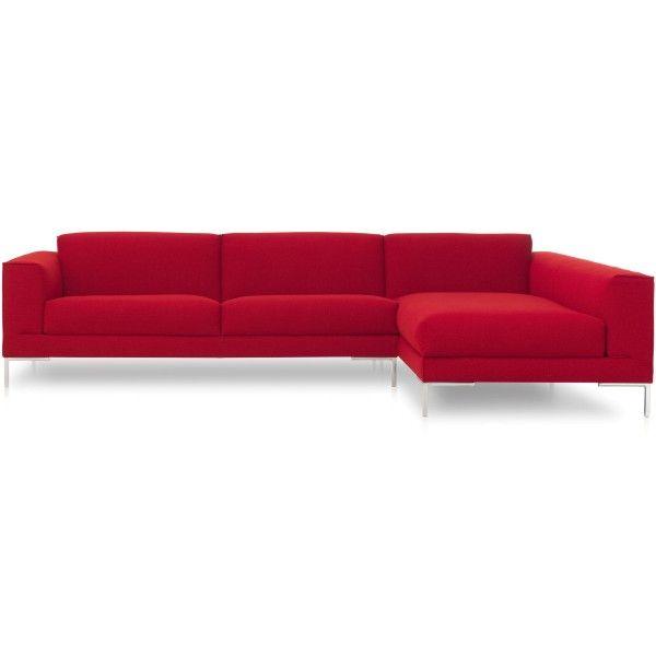 Design on Stock Aikon bank 3-zits 1 arm + chaise longue