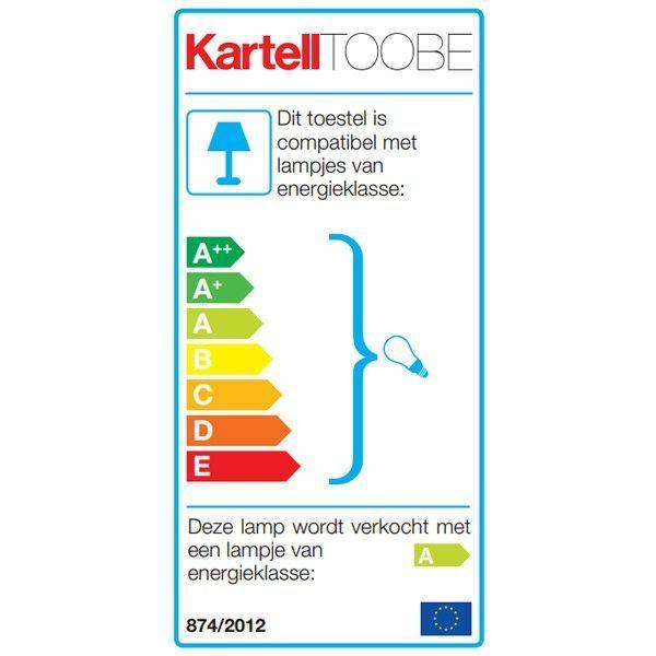 Kartell Toobe vloerlamp