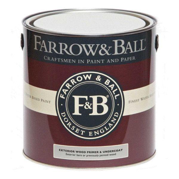 Farrow & Ball Primer en Undercoat hout buiten, donkere tinten