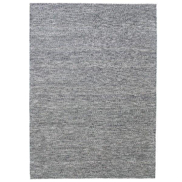 Fabula Living Gimle zwart/gebroken wit vloerkleed