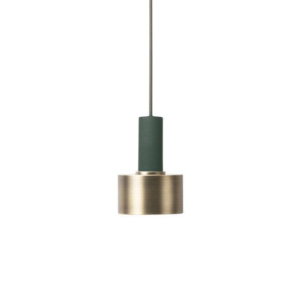 Ferm Living Disc Brass hanglamp