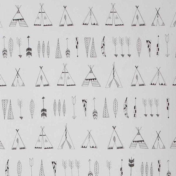 Ferm Living Native behang