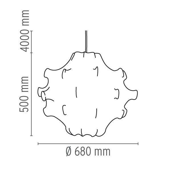 Flos Taraxacum hanglamp 1