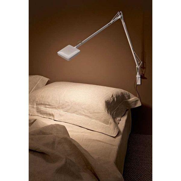 Flos Kelvin bureaulamp LED met wandbevestiging