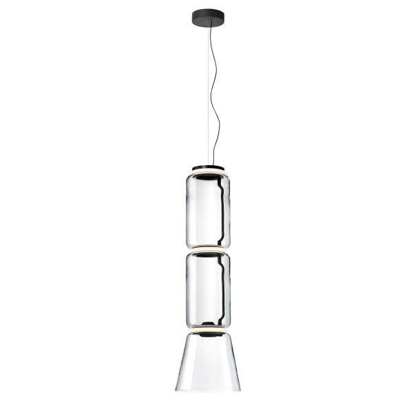 Flos Noctambule 2 Low cylinder en cone hanglamp LED