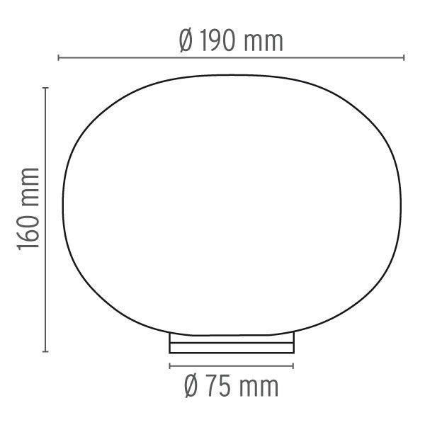 Flos Glo-Ball Basic Zero tafellamp