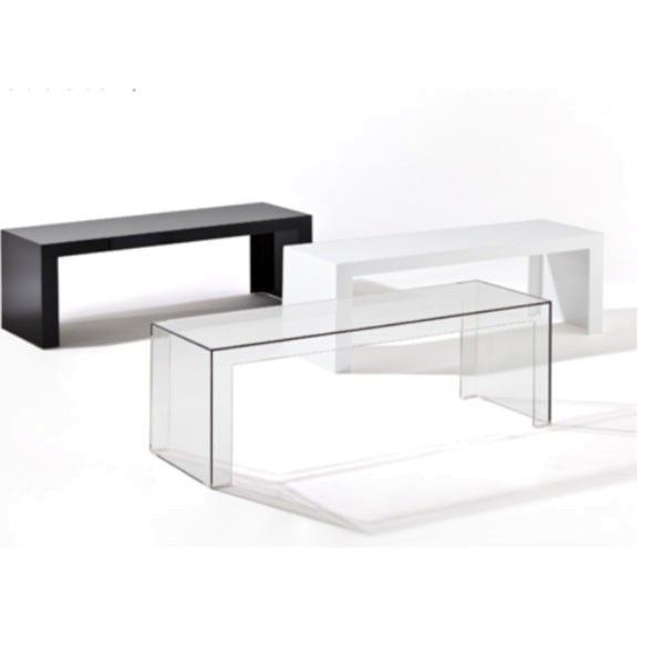 Kartell Invisible bijzettafel high 120x40