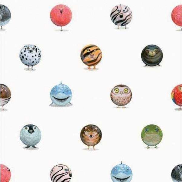 KEK Amsterdam Animal Marbles behang