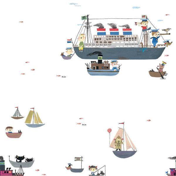 KEK Amsterdam Holland America Line behang