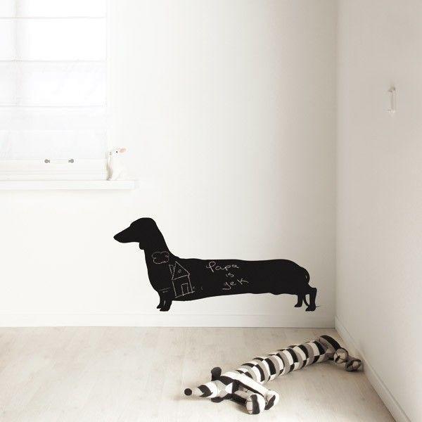 KEK Amsterdam Long Dog Larry muursticker