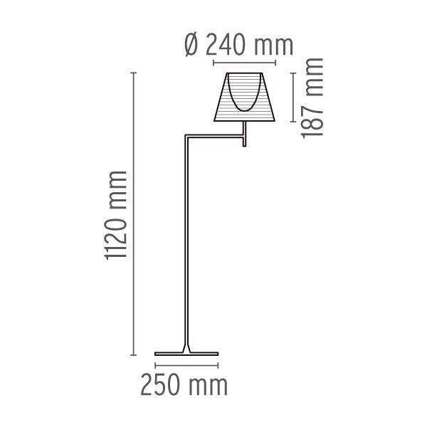 Flos Ktribe F1 vloerlamp