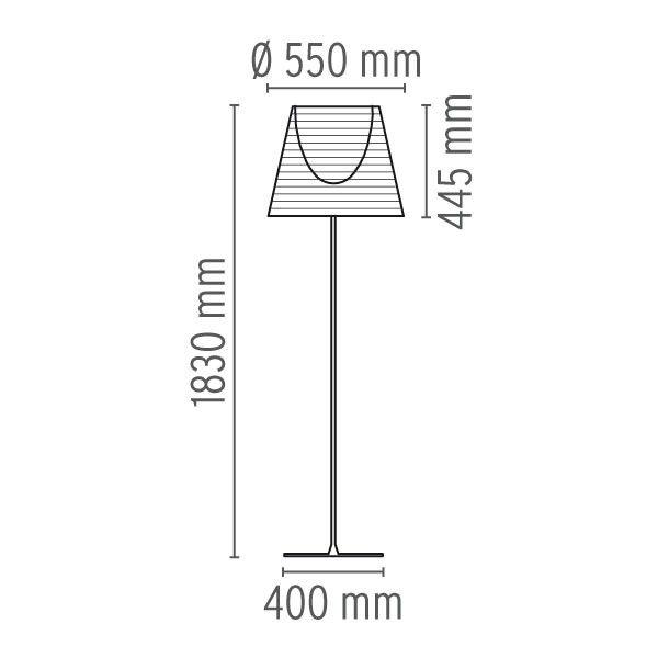 Flos Ktribe F3 vloerlamp