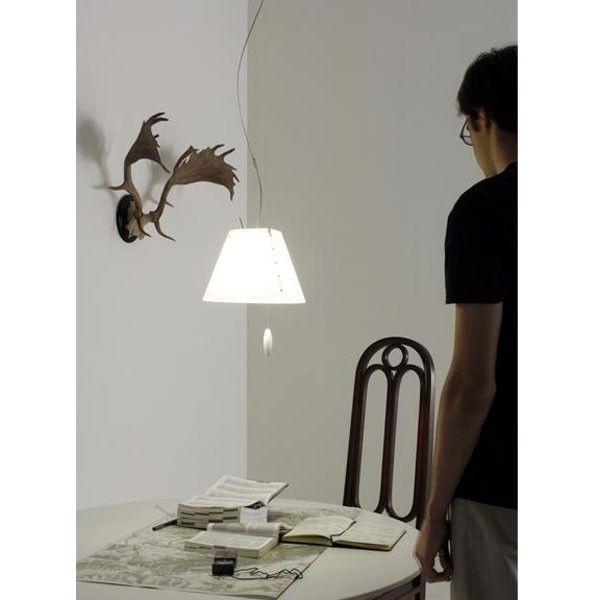 Luceplan Costanzina hanglamp up&down