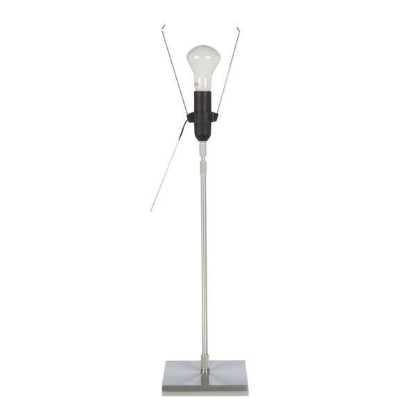 Luceplan Outlet - Costanza tafellamp onderstel aluminium telescopisch met schakelaar