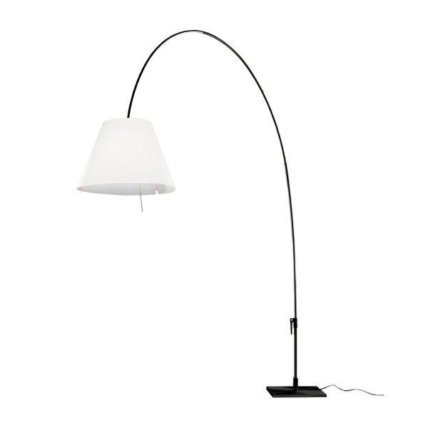 Luceplan Lady Costanza vloerlamp met dimmer zwart