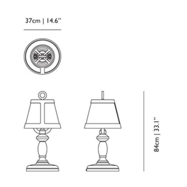 Moooi Paper tafellamp