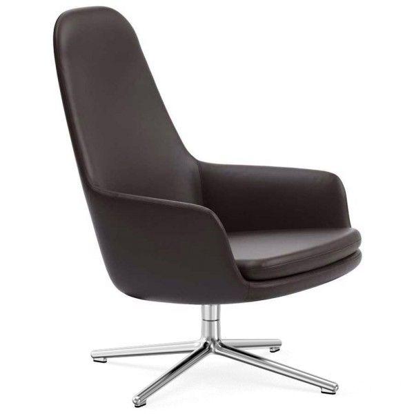 Super Normann Copenhagen Era Lounge Chair High Swivel Fauteuil Met Aluminium Onderstel Camellatalisay Diy Chair Ideas Camellatalisaycom