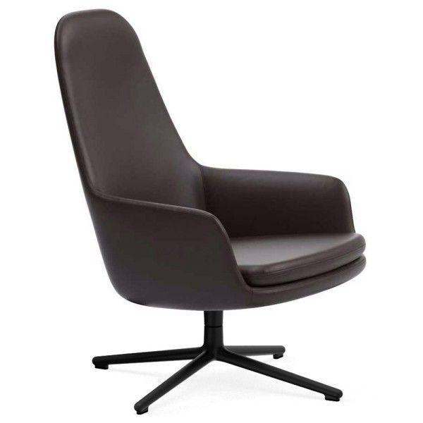 Phenomenal Normann Copenhagen Era Lounge Chair High Swivel Fauteuil Met Zwart Onderstel Camellatalisay Diy Chair Ideas Camellatalisaycom