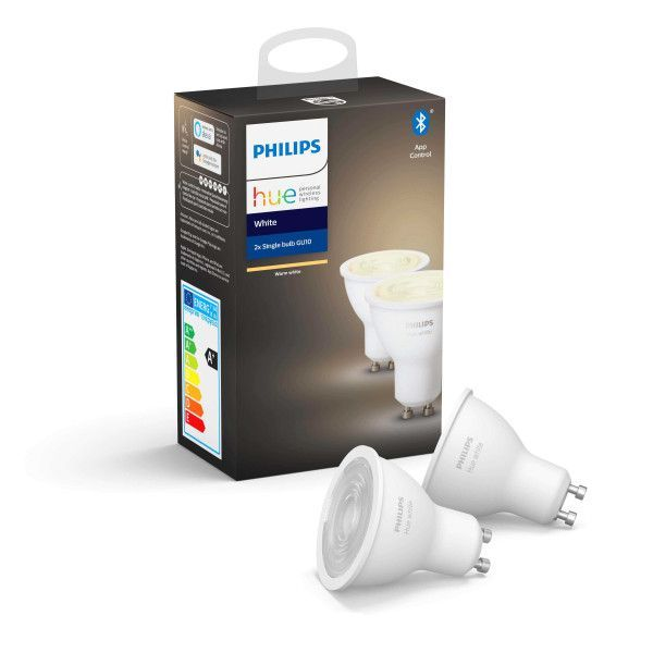 Philips Hue Philips Hue lichtbron GU10 Bluetooth - white - 2-pack