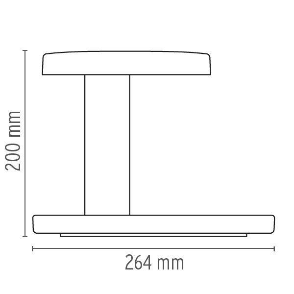 Flos Piani tafellamp LED