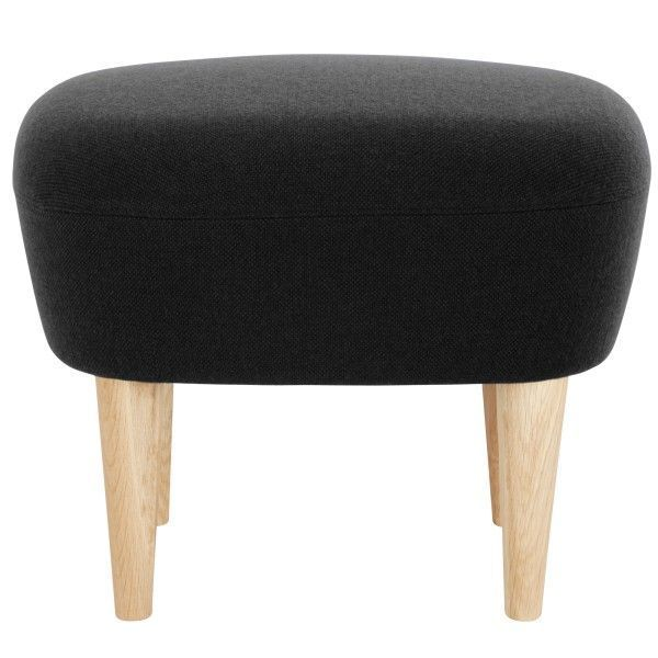 Tom Dixon Wingback Oak ottoman