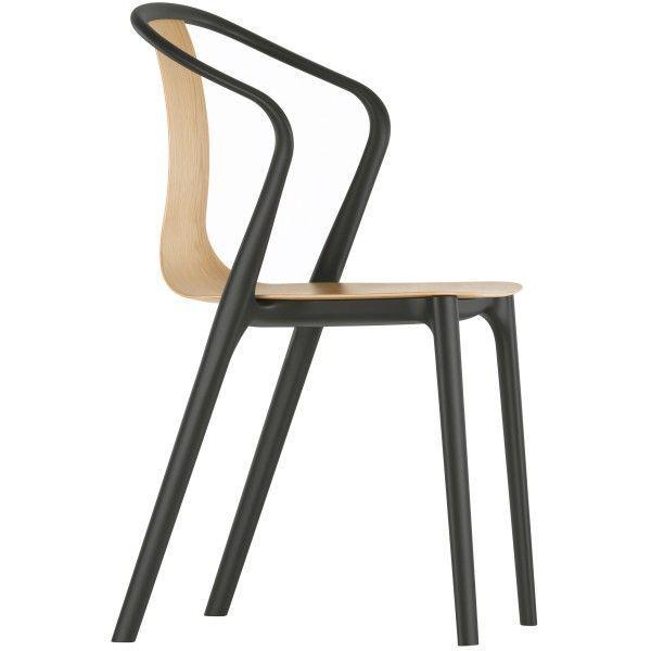 Vitra Belleville Armchair Wood stoel