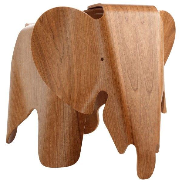 Vitra Eames Elephant Plywood kinderstoel