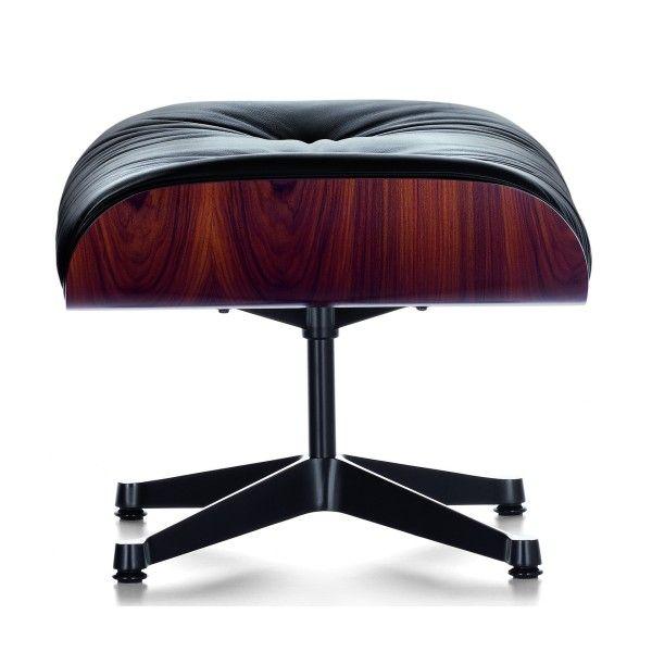 Vitra Ottoman voor Lounge chair Santos Palisander
