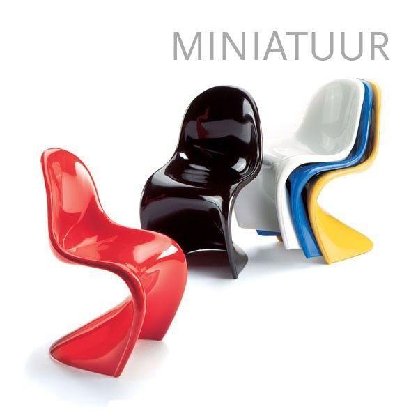 Vitra Panton Chairs miniatuur