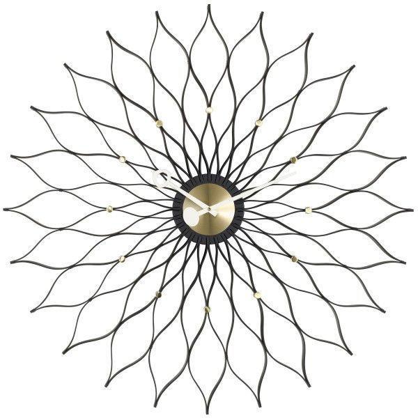 Vitra Sunflower klok Black Collection
