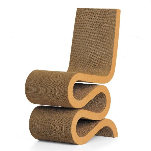 Vitra Wiggle Side Chair stoel