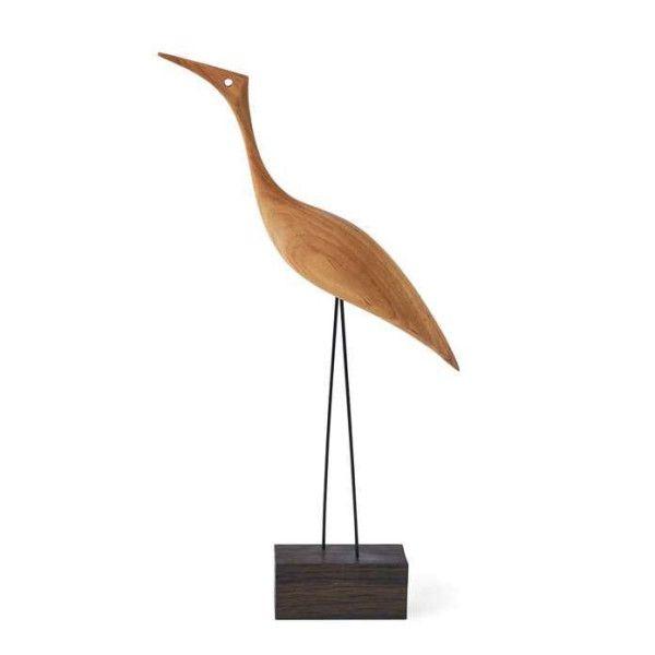Warm Nordic Beak Bird, Tall Heron