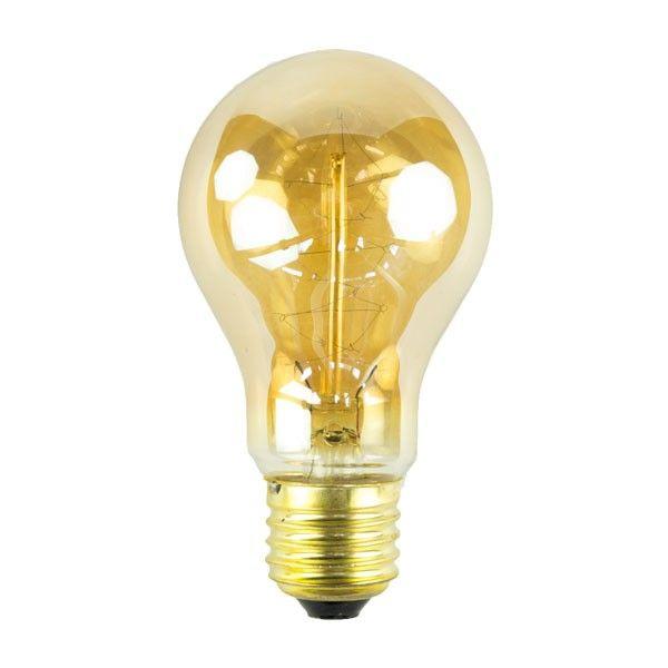 Het Lichtlab Kooldraad Edison lichtbron E27 64mm 40W