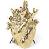 Seletti Love in Bloom Gold Edition vaas