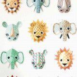Studio Ditte Wilde Dieren behang cool