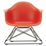 Vitra Eames LAR loungestoel, poppy red